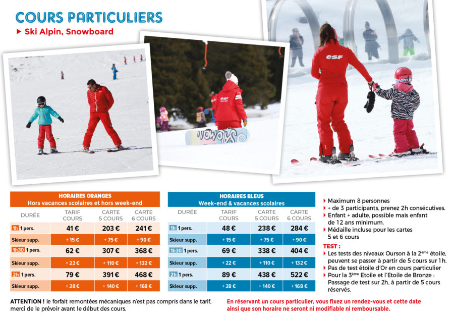 Cours particuliers (2)