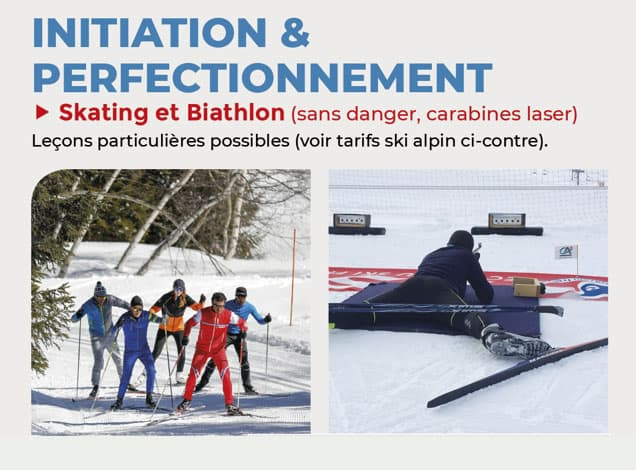 Photo skating biathlon 2018
