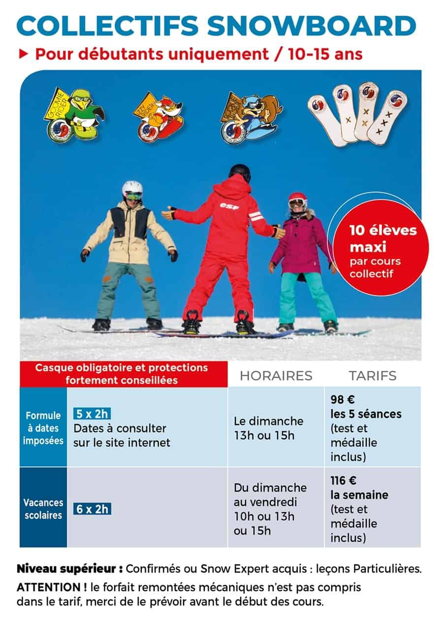 Collectifs snowboard 2020