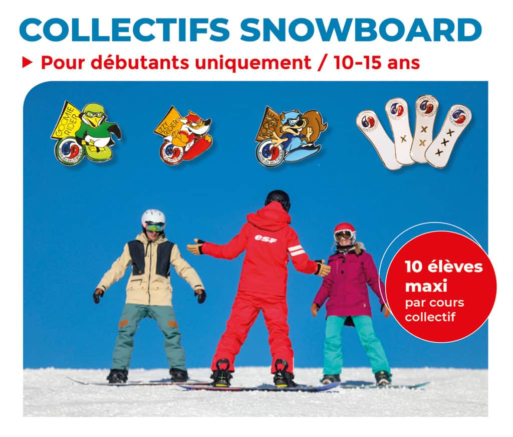 Collectifs snowboard top page