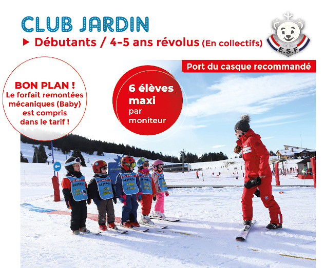 Club jardin top page