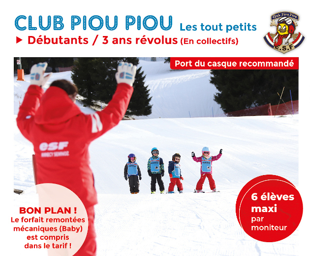 Club piou piou top page