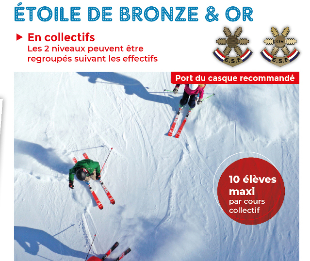 Etoile bronze or top page