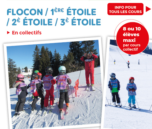 Flocon etoiles top page